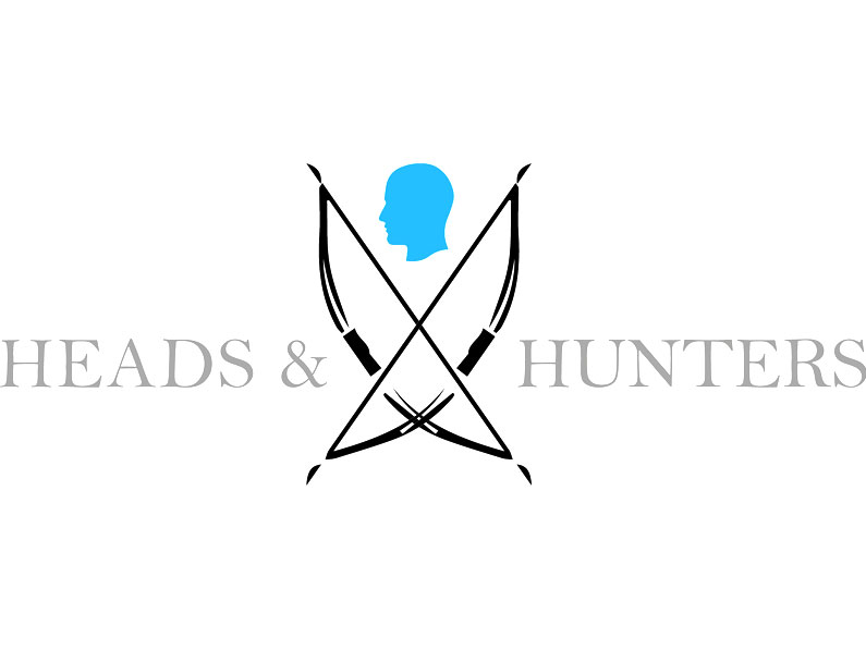 Heads and Hunters // Logo, Visitenkarte, Website