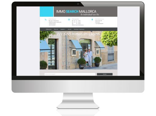 Immosearch Mallorca // Website
