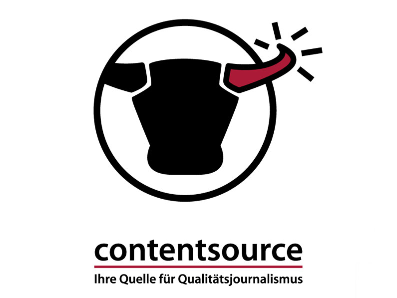 Contentsource // Logo, Visitenkarte, Briefbogen